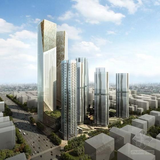 [辽宁]大型超高层综合体施工管理策划书(总平面布置图)