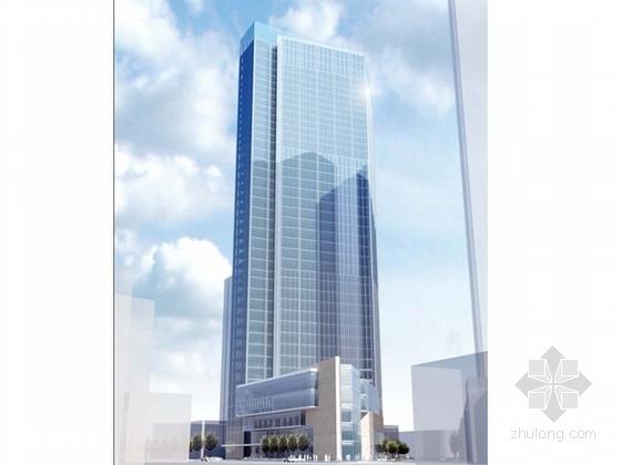[成都]43层五星级高端酒店建筑设计方案文本