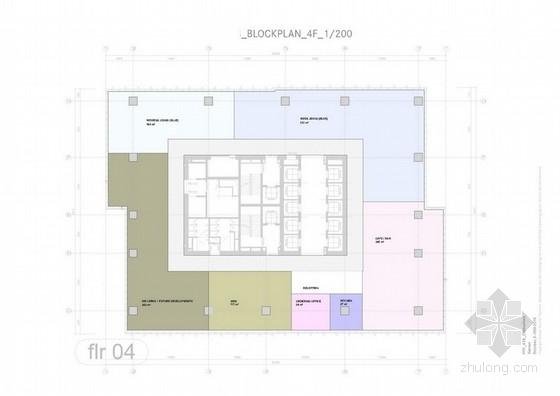 [福建]服装高科技上市公司总部现代风格办公室概念设计方案