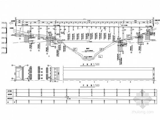 1-100m钢筋混凝土箱板拱桥设计套图(87张)