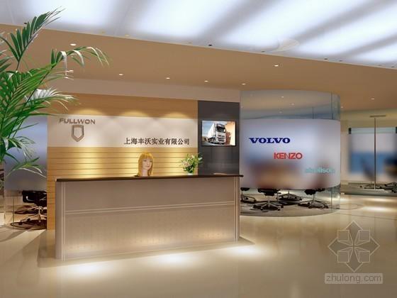 公司前厅3D模型下载