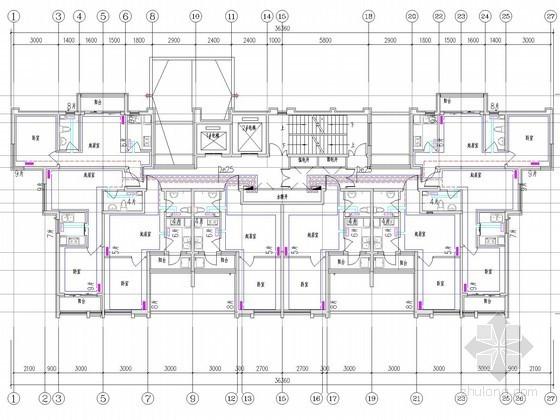 采暖管网施工图资料下载-[山东]高层居住建筑采暖通风系统设计施工图
