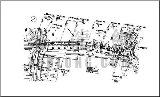 [上海]某道路排水系统市政配套工程图