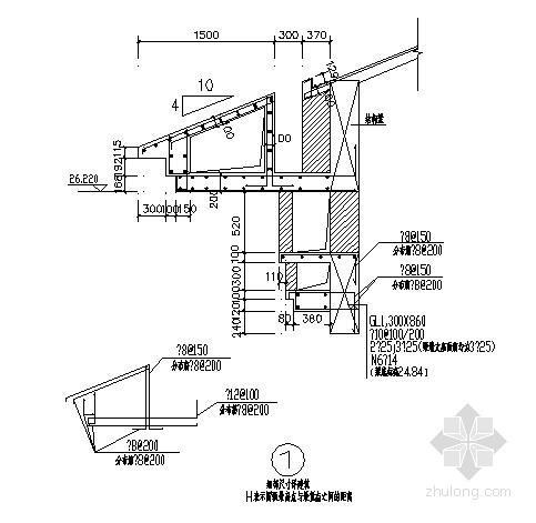 [内蒙古]二层框架结构体育馆结构施工图