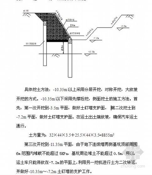 广州某钢厂土方开挖施工方案