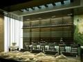 日式餐厅3d模型下载