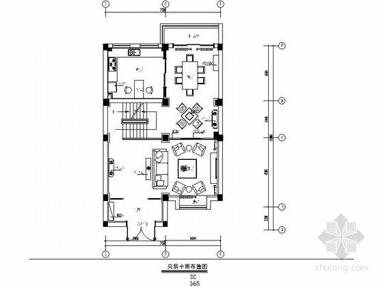 [丹阳]环境舒适小区三层别墅室内装修图(含效果)