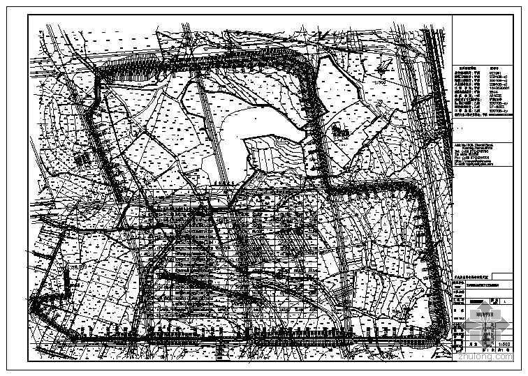 昆明市经济技术开发区市政道路设计全套图纸