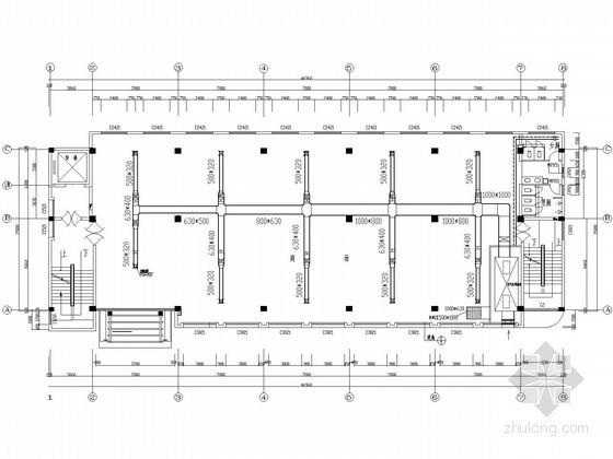 某商业办公综合楼空调通风设计施工图