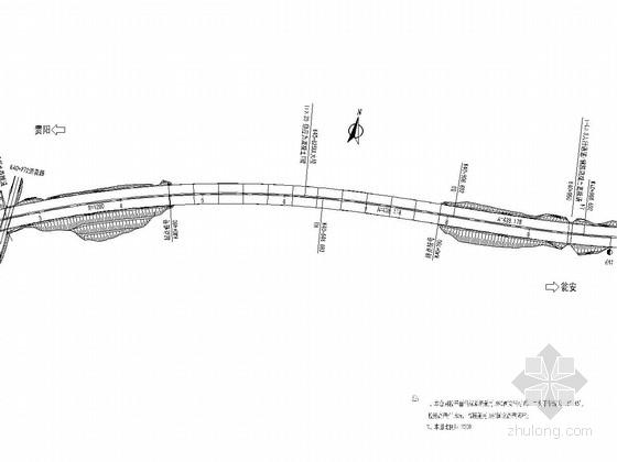 预应力T梁桥施工图150张CAD(嵌岩桩)
