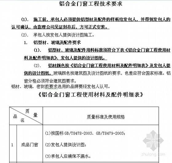 [江西]住宅楼工程施工招标文件(含施工合同)102页