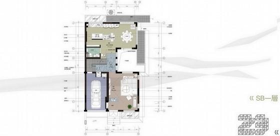 [苏州]现代简约风格sB户型别墅创意策划概念图