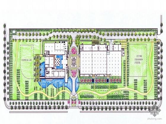 杭州办公楼景观设计