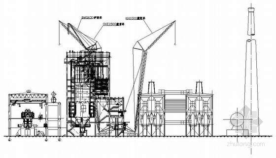 某热电厂1*210MW机组工程施工图