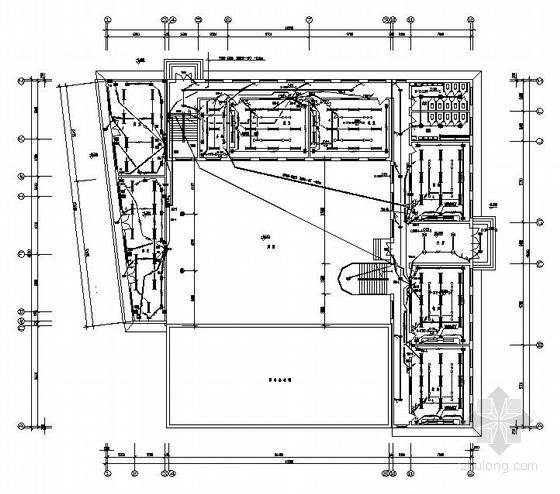 中学教学楼电气设计图