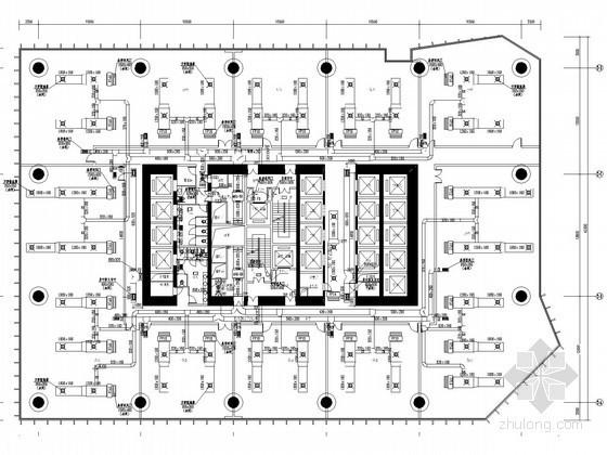 [广东]超高层商业办公楼空调通风及防排烟系统设计施工图