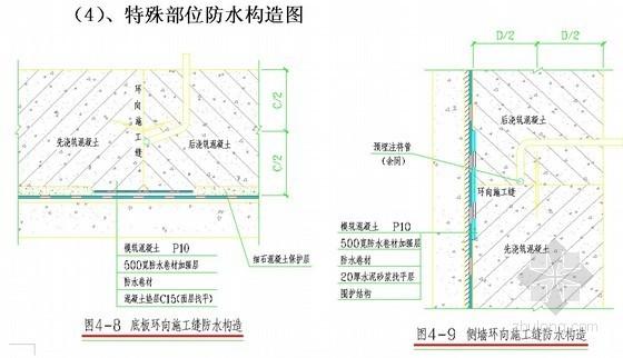[北京]地铁站主体结构防水施工方案(明挖施工)
