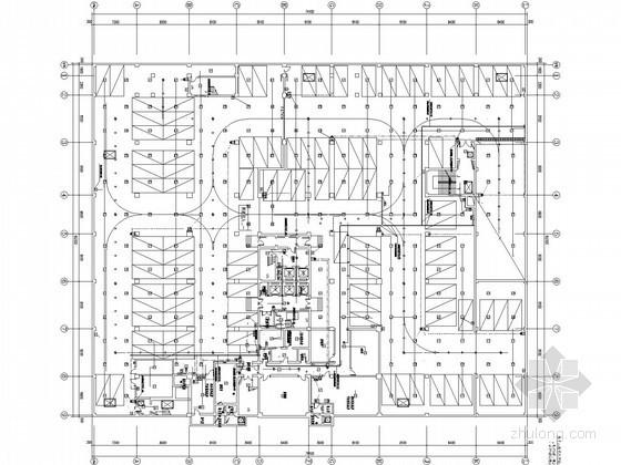 高层办公楼火灾自动报警系统施工图(2016年)