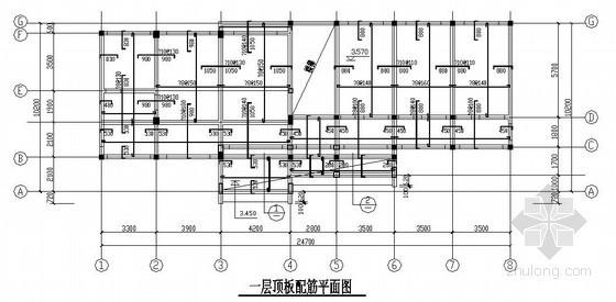 [安徽]砖混结构办公楼结构施工图(三层 坡屋面)