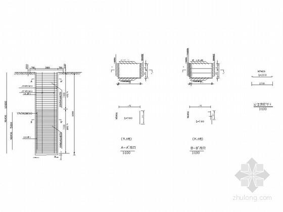 [湖北]抗滑桩加格构锚索滑坡防治设计方案(方案比选 附图纸)