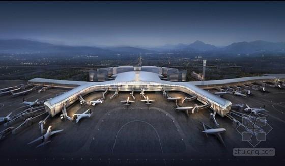 [浙江]温州大型航站楼设计方案文本(知名公司设计)