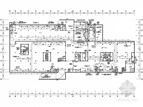 [安徽]市政办公楼空调通风设计全套施工图纸