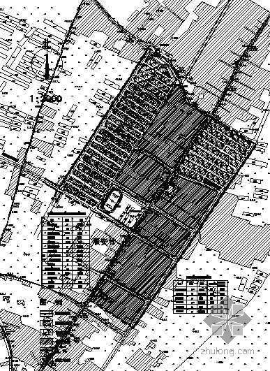 [甘肃]某村旧村改造及建设规划总平面