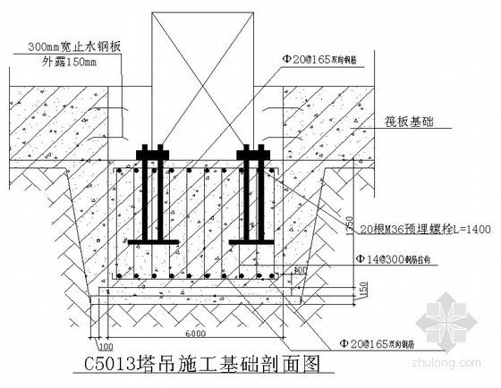 [山西]C5013塔吊安装和拆卸施工方案