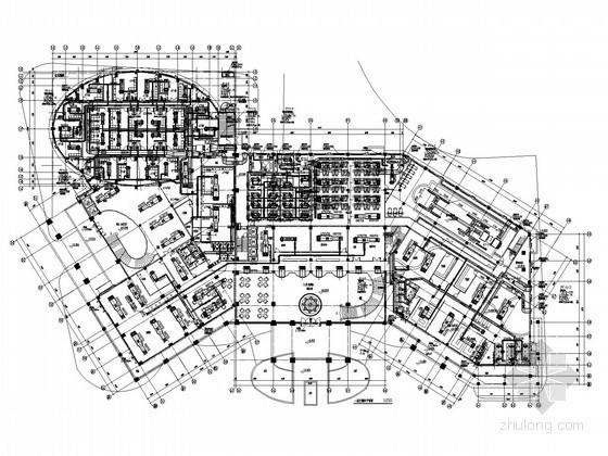 [广东]多层公共建筑空调通风排烟系统设计施工图(风冷热泵)