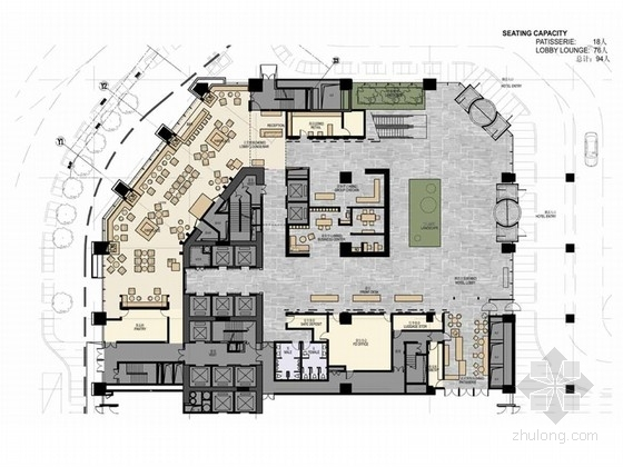 [长春]现代时尚有特色的五星级酒店设计方案(含效果图)