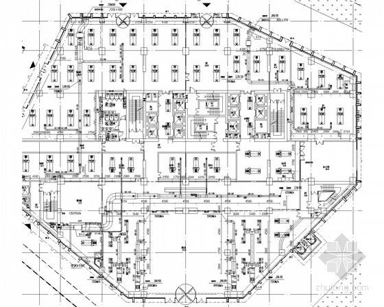 [福建]超高层综合建筑暖通空调通风防排烟系统施工图(著名设计院 含人防、换热站)