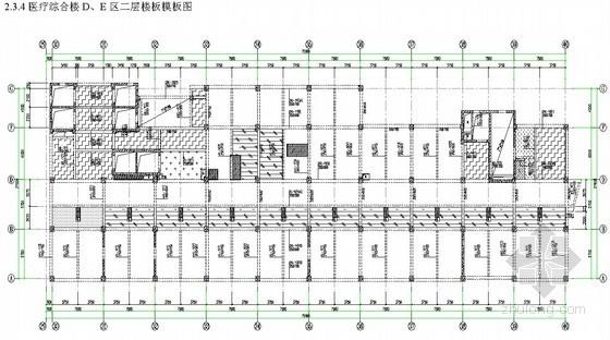 [北京]医院综合楼模板施工方案 (长城杯)