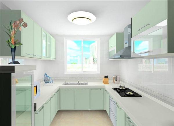 U水槽资料下载-各种橱柜优缺点分析,厨房装修橱柜样式怎么挑?