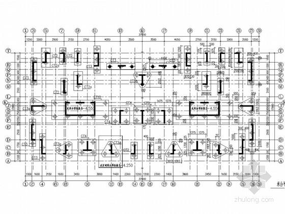 [苏州]15层剪力墙结构带阁楼住宅结构施工图