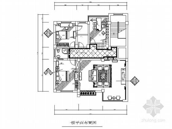 经典跃层楼房室内装修图