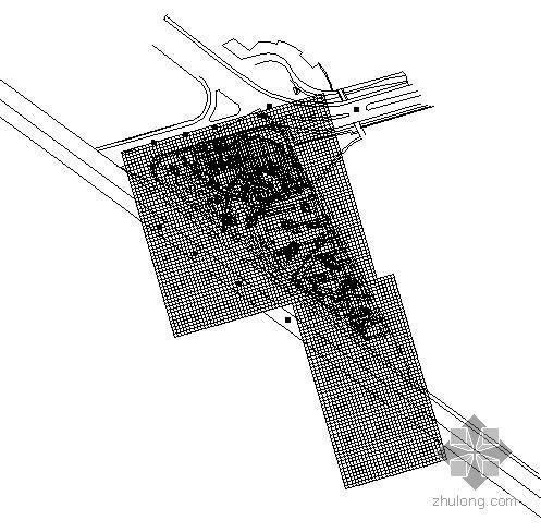 南京广场景观绿化施工图