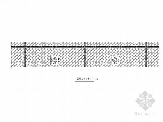 20m宽城市支路绿化工程施工图