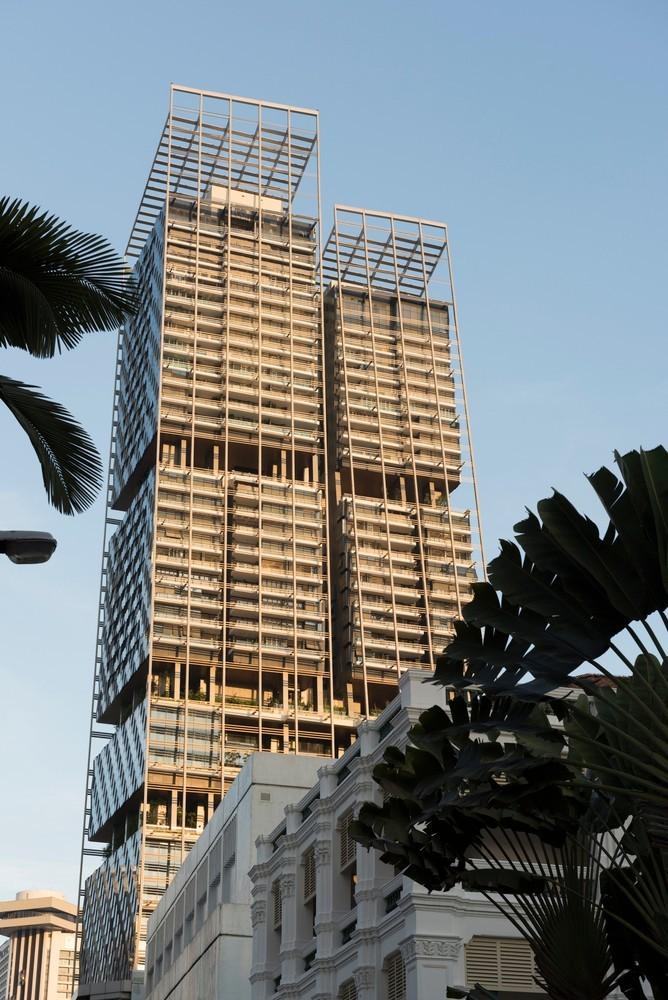 """延续了新加坡对""""花园中的城市""""的理想 — 南海滩综合新区 / 福"""