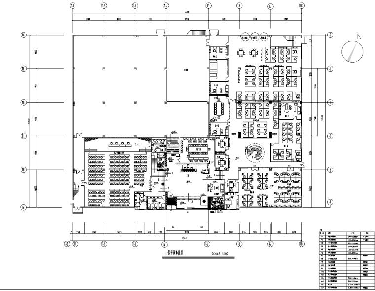 [广东]佛山阿波罗总部办公楼施工图及实景图