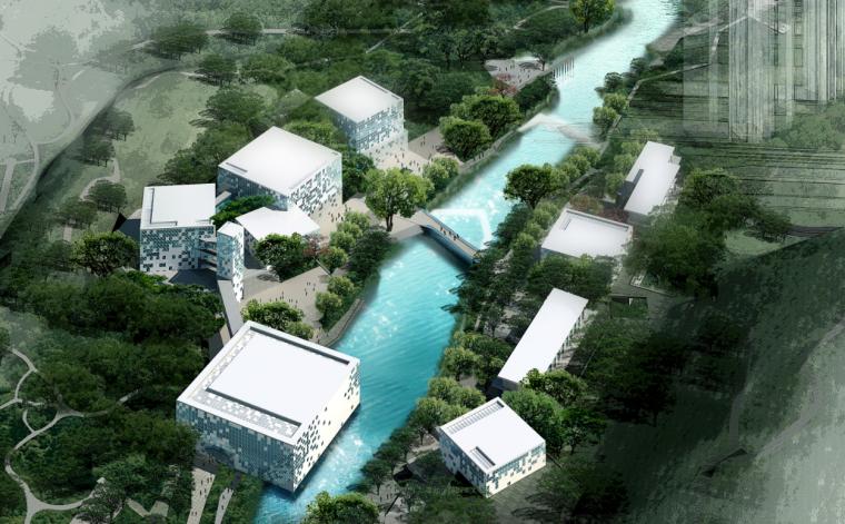 [广州]东莞现代规划展览馆建筑方案文本(CAD+文本)