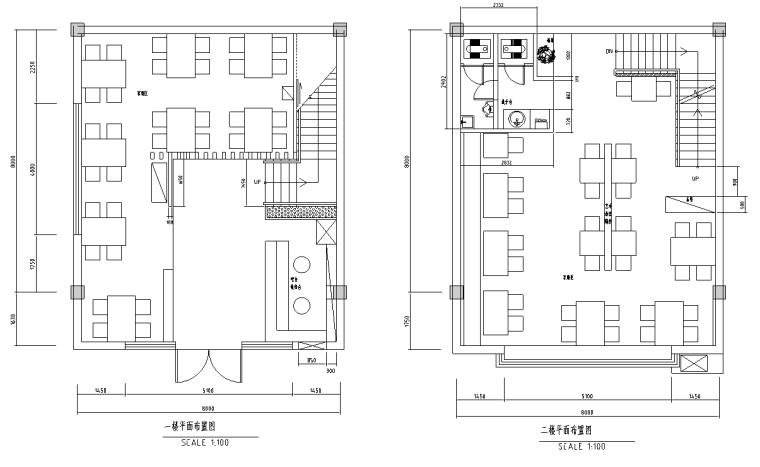 [四川]某火锅店装修设计方案施工图纸