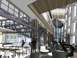 [福州]三迪中心商场深化设计原版SU模型