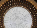 大跨度椭圆形球面软膜天花施工工法