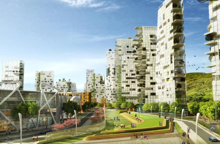 [湖南]长沙混用居住区规划设计