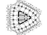 圆钢管混凝土外框柱-混凝土核心筒混合结构设计论文