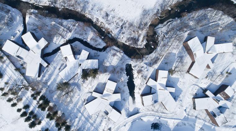 """[吉林]长白山河谷林居""""森林守望者""""民宿建筑设计"""