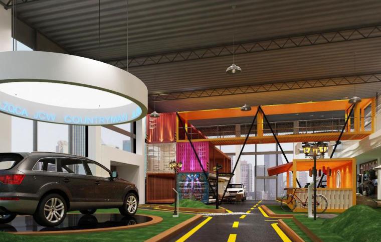 (原创)汽车4S店室内设计案例效果图-汽车4S店 (16)