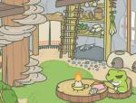 旅行的青蛙有个树屋的家