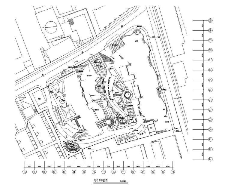 [上海]上海市思南苑全套景观施工图设计(法国PA)