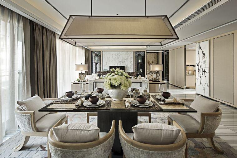 重庆万科悦湾150㎡样板房室内设计方案